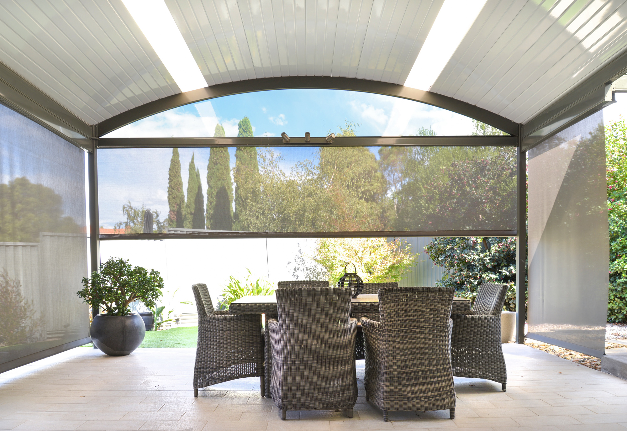 The Fielders Centenary Curved Patio Carport and Verandah range can provide that special touch. & Fielders Centenary Curved Roof - Fielders Centenary
